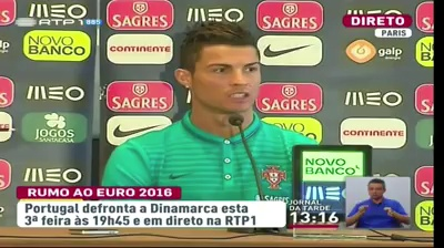 Ronaldo dá nega á CmTv