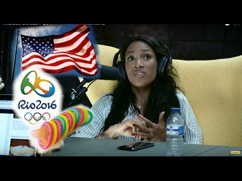 Rui Unas pergunta a Patrícia Mamona se se pina muito na aldeia olímpica